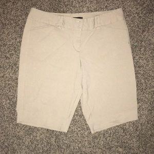 Limited Size 12 khaki Bermuda shorts